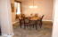 Another look at the formal dining room, just off the kitchen.