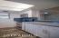 Stainless appliances in kitchen! New Grey tile Backsplash,