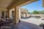 Casita entry off courtyard