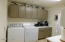 Room for extra refrigerator or freezer, Coffee bar area and built in microwave. All located just off the kitchen