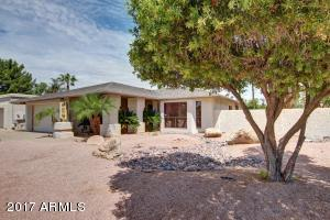 Santa Barbara style (Front Exterior View) located on LARGE PRIVATE Corner Lot