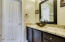 REMODELED MASTER BATH 2014 * GRANITE COUNTER TOP * GLASS VESSEL SINK * UPDATED FAUCET & LIGHT FIXTURE