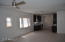 Living room / dining / kitchen