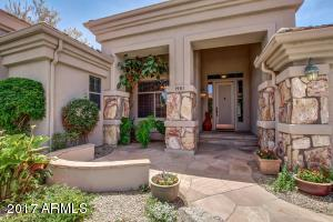 1981 W. Hemlock Way. Natural stone accents. Flagstone entry.