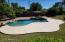 RESORT STYLE BACKYARD WITH POOL/SPA PATIO AREA
