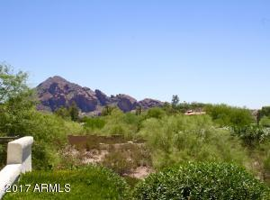 View of Camelback from patio