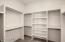 2- Walk in closet's in Owners Suite
