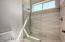 Jack N Jill Bathroom Between 2 bedrooms. Great for those busy mornings.