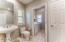 Updated Powder Room. Storage is abundant in your new townhome.