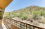 Stunning views of Sonoran Desert & Troon Mountain from your master suite.