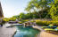 Completely private backyard with mature landscaping.