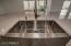 stainless recessed kitchen sink