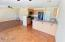 Kitchen w / stained concrete floors