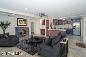virtual staging- living room
