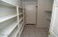 Huge Laundry and shelving