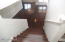 Stairwell to front room