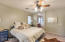 Nice size master bedroom with 2 walk-in closets!