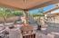 Covered patio!