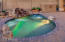 Custom built Spool (Pool / Jacuzzi Combo) with therapuitic jets that heats up in minutes at very little cost! Perfect for a few floatation rafts to cool off in summer or will seat up to a dozen people as a therapeutic jacuzzi