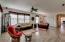Great room concept and split floor plan