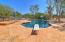 DIVING BOARD VIEW OF POOL