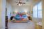 Master Bedroom as seen from sink/vanity area