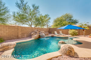 Pebble Tec Pool with Water Fall and Grotto