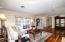 Hardwood flooring throughout main living areas.