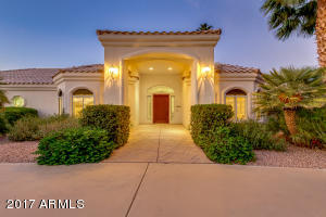 Entrance to this beautiful custom home