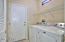 Washer and gas dryer included