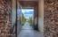 View through entryway