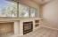 Family room with gas fireplace. Cozy up on cool days.