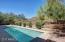 Refreshing pool and mountain views.