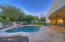 Flagstone Hardscape Surround Pool