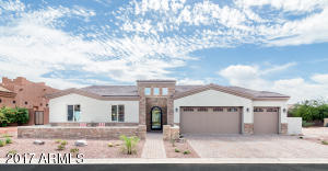 Located inside gated Gold Canyon Estates is this brand new custom home.
