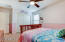 All secondary bedrooms are not small in size.