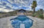 Salt Water, Diving pool with Solar Cover -