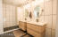 """Simple yet bold 12"""" by 24"""" high-gloss white tiles flow seelee"""