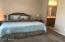 Spacious Master bedroom. Open double doors to walk-in closet.