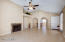 Spacious Great room. This home is very light and bright!!!