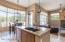 Kitchen Nook - huge windows to backyard!