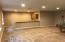 Full basement with 2 bedrooms all bath /game room and kitchenette