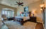 Master suite with sitting area