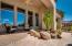 Water feature off master bedroom patio
