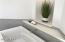A closer look at the master bathroom soaking tub.