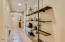 Custom industrial shelving unit INCLUDED!