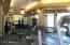 Fitness Room offers nice cardio and weight equipment