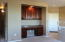 Handy Work Space Area with Cabinetry