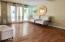 Living Space by back French Doors/Windows