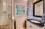 Completely renovated guest bathroom